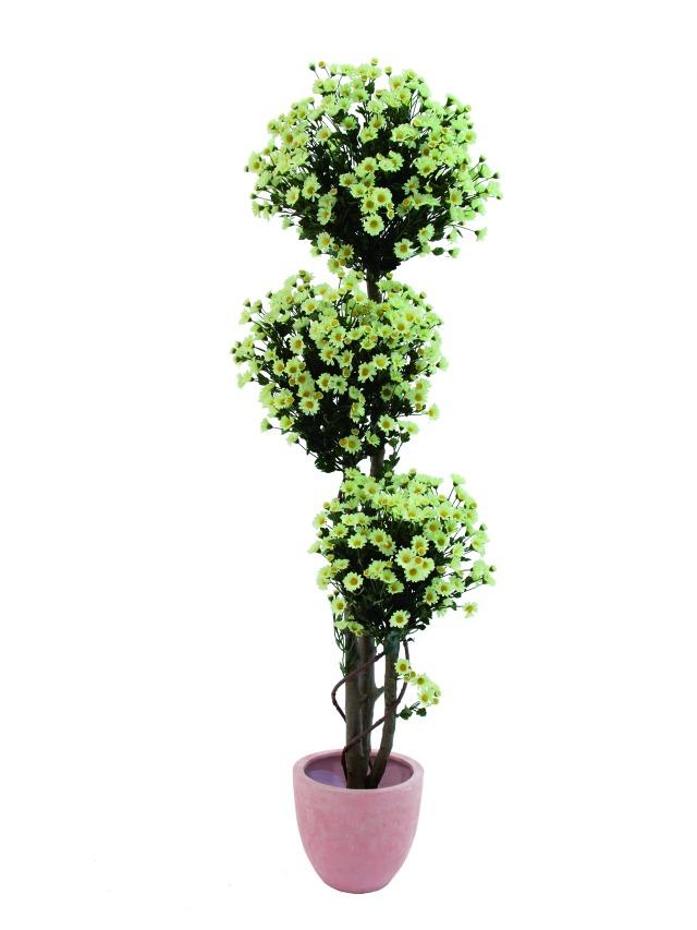 Image of   Kunstig Margaritenglobestree, 160cm