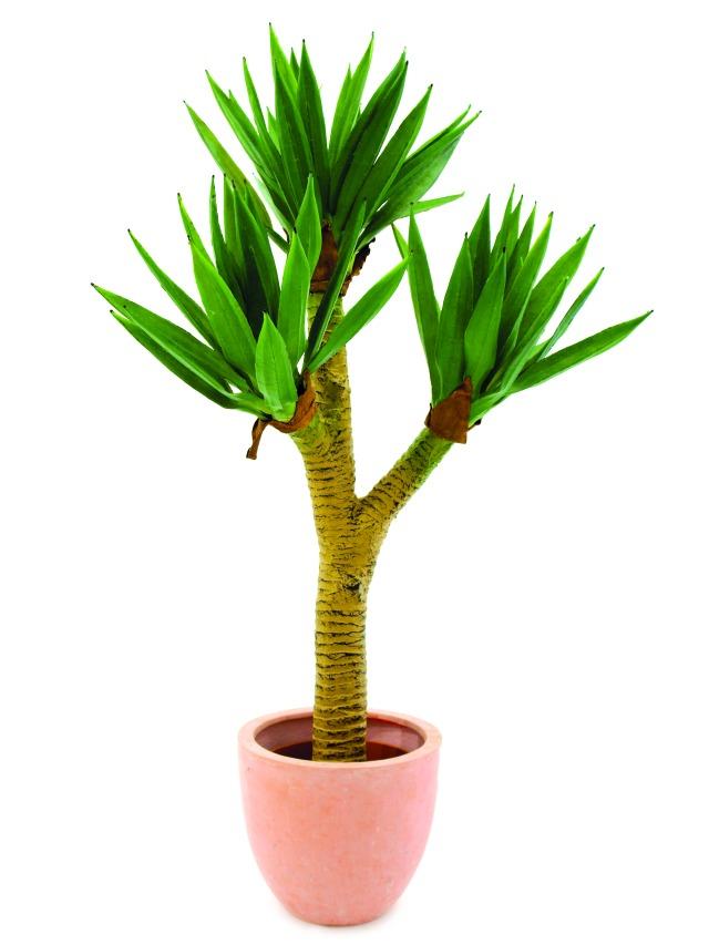 Kunstig  Yucca palmbush, 105cm