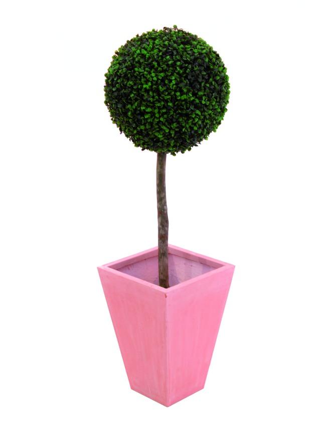 Billede af Kunstig Boxwood tree, 110cm, d=60cm