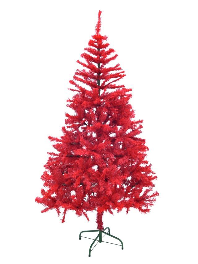 Billede af Fir tree, red, 240cm
