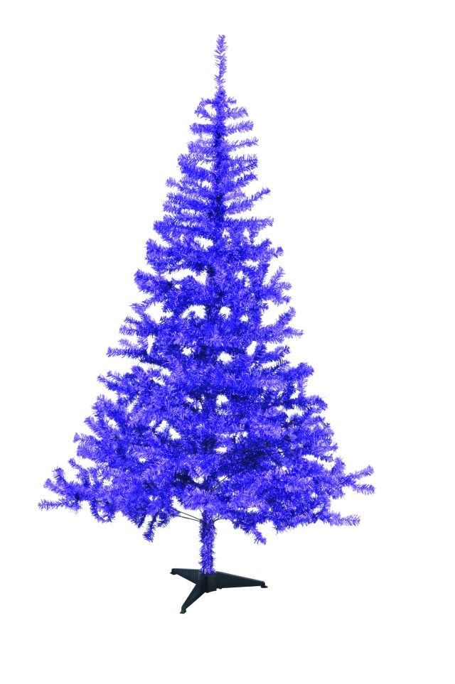 Billede af Fir tree, purple, 240cm