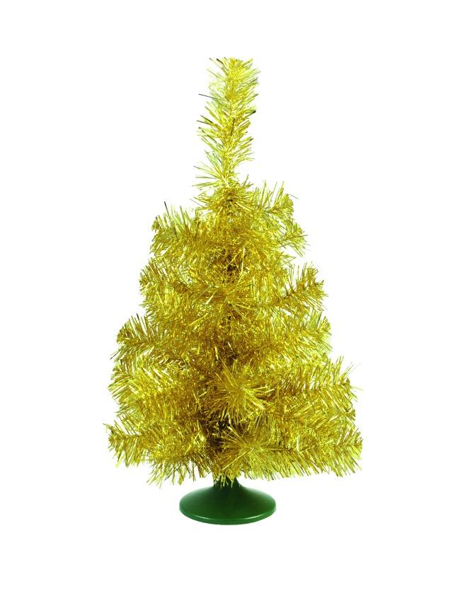 Billede af Table christmas tree, gold, 45cm