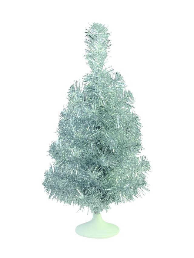 Billede af Table christmas tree, silver, 45cm