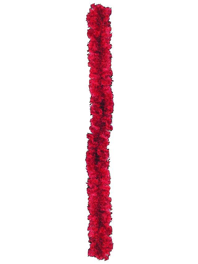 Billede af Noble pine garland, red, 270cm