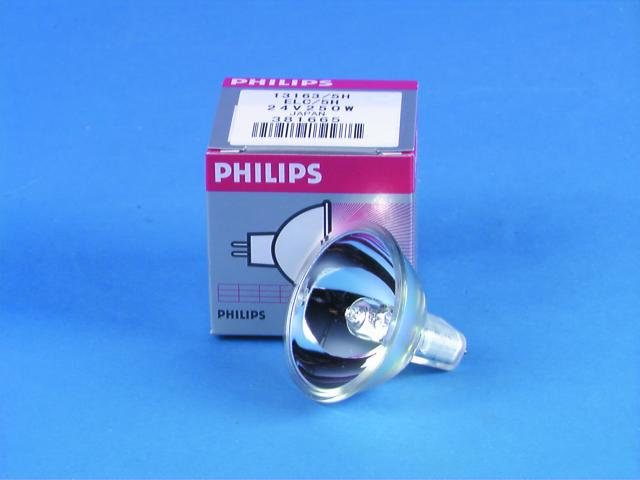 Image of   Philips Halogen pære ELC/5H 24V/250W BROADWAY