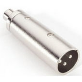 Image of   Adapter Audio Stik RCA Phono Hun til XLR Han