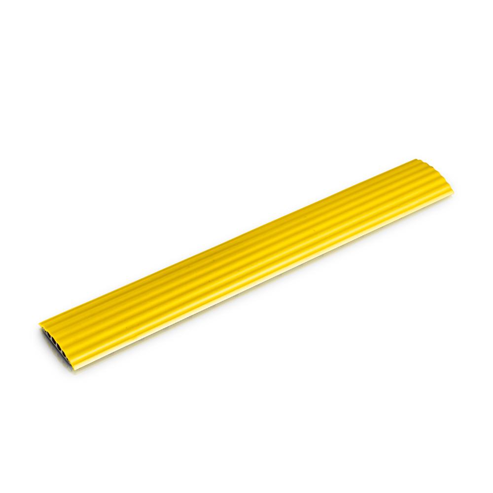 Billede af Defender Office Kabel Beskytter med 4 kanaler gul