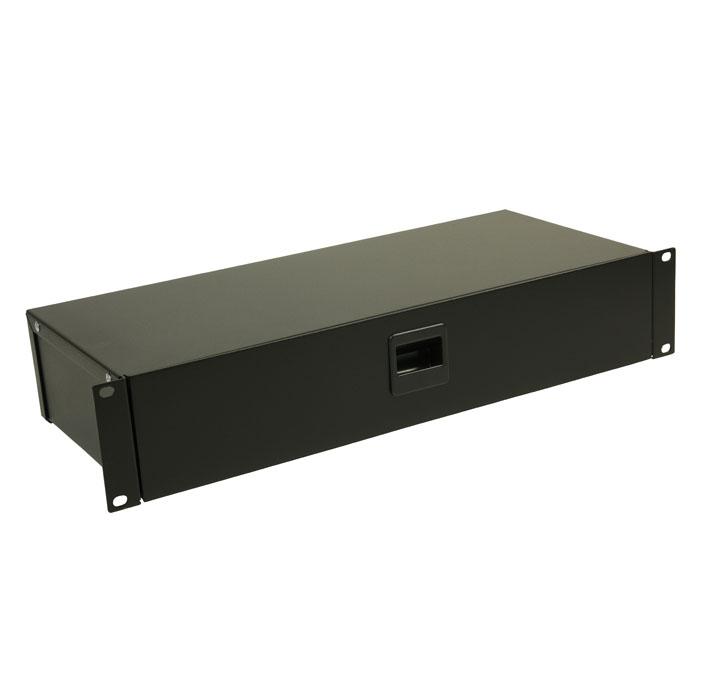 Image of   Adam Hall 87302 Rackbox with Latch 2 U
