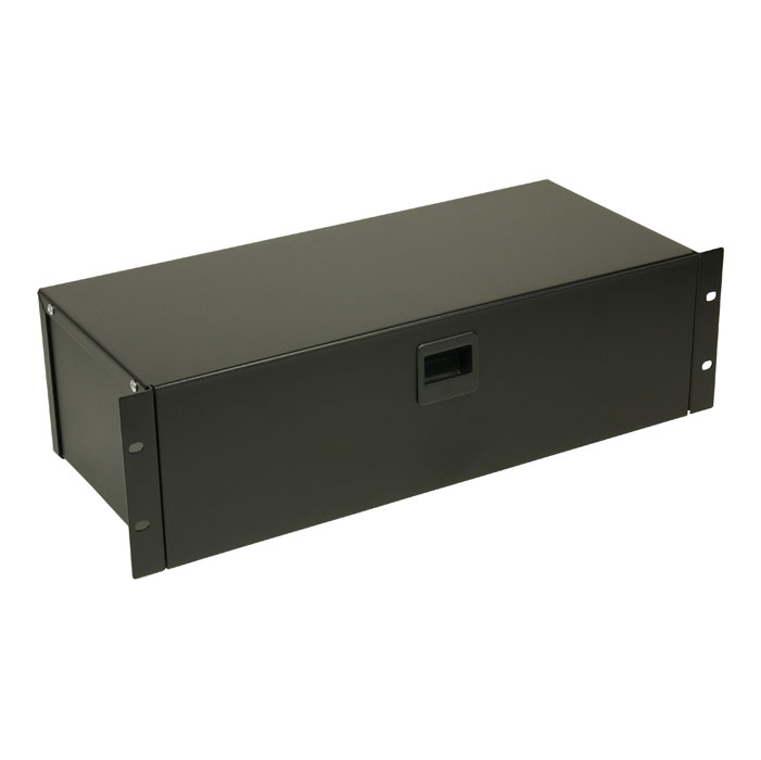 Image of   Adam Hall 87303 Rackbox with Latch 3 U