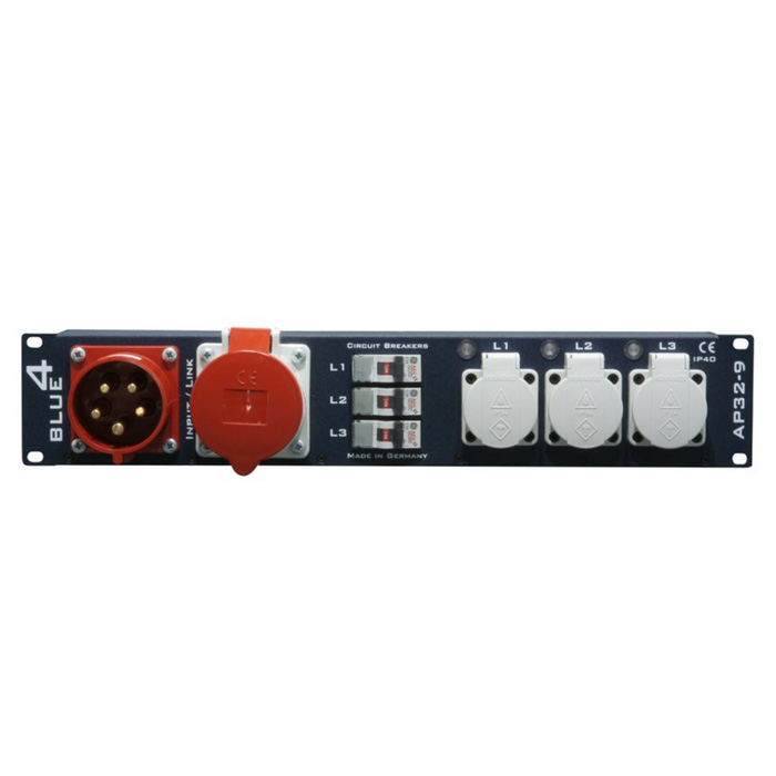 Image of   Adam Hall Strøm Distributør 32A 2 Unit