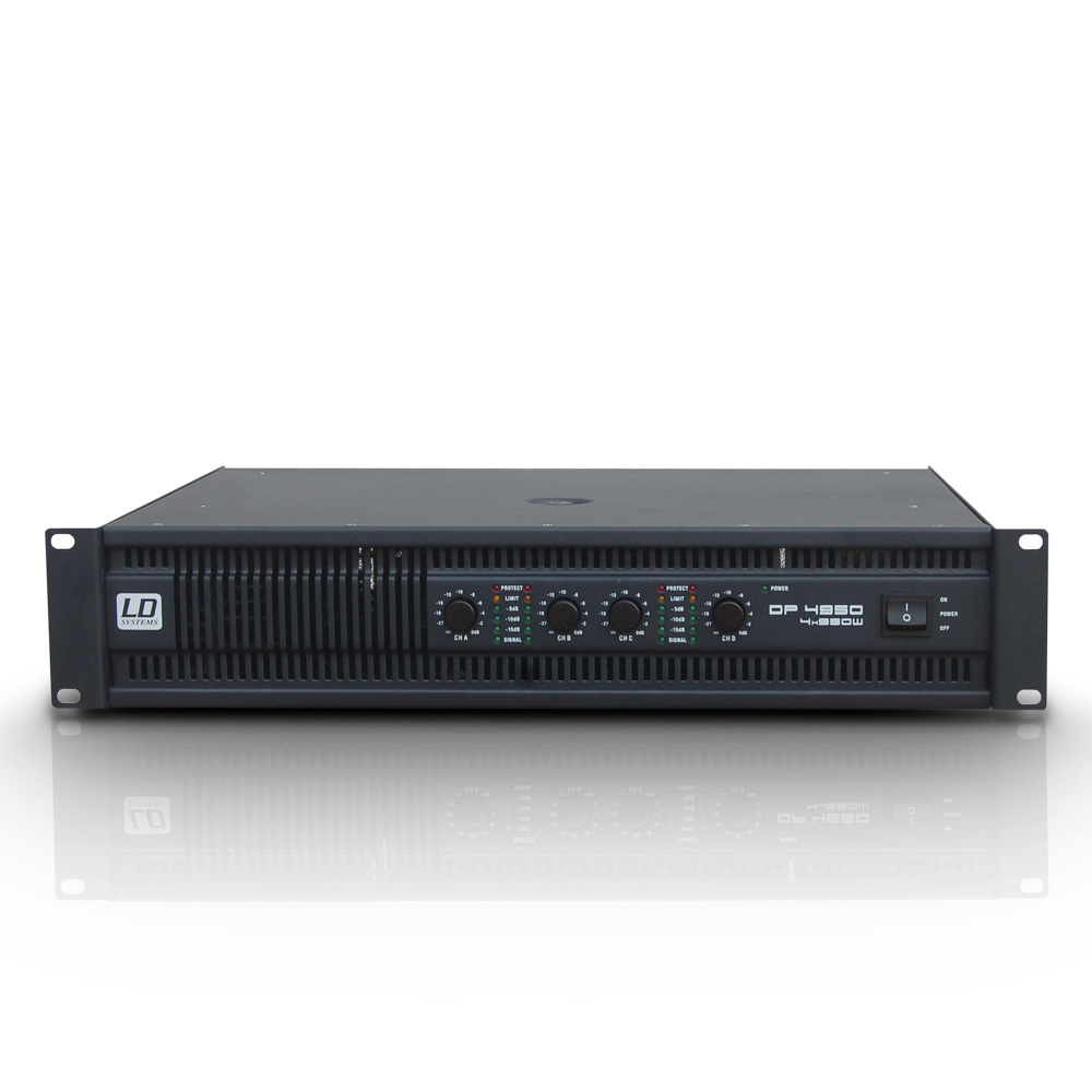 LD Systems DEEP2 4950 Forstærker 4x490W 8 Ohm