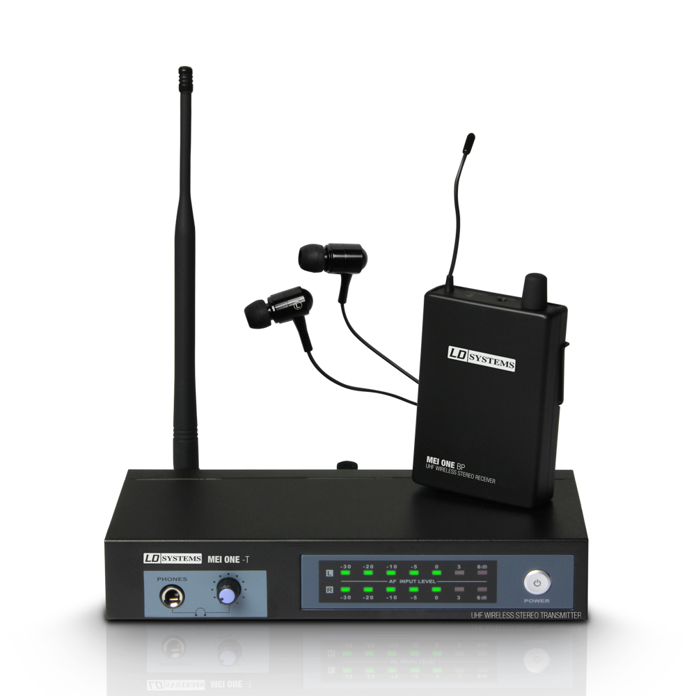 LD Systems MEI ONE Trådløs In-Ear Monitor System ISM3 (864.900 MHz)