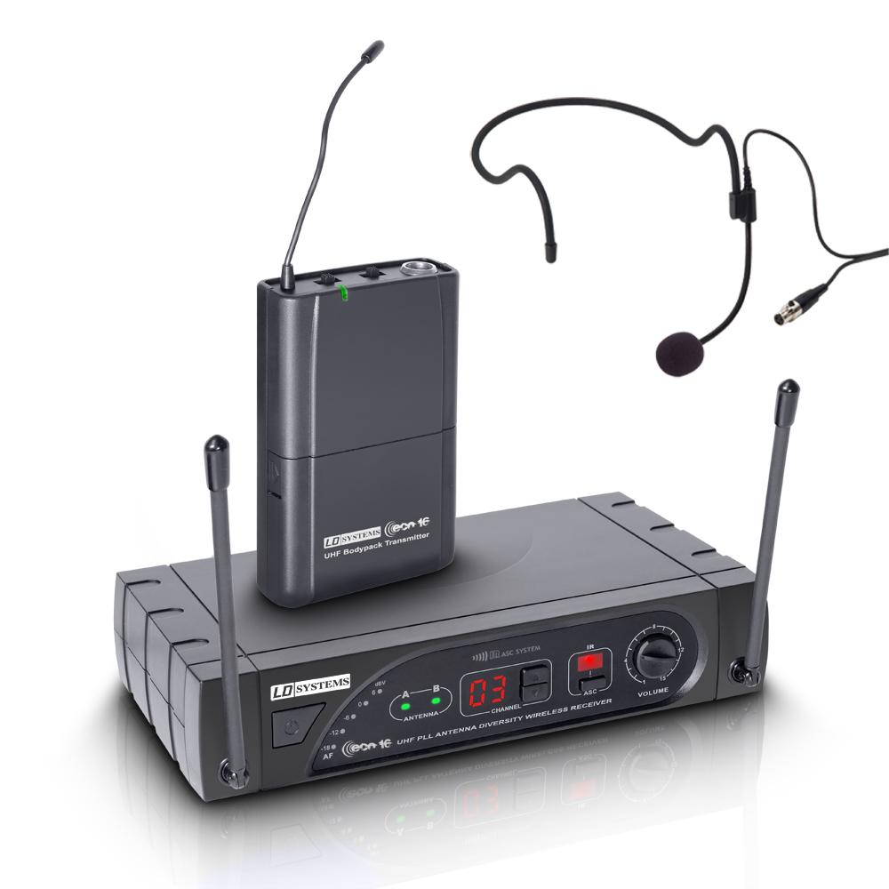 LD Systems ECO 16 BPH Trådløs mikrofon headset