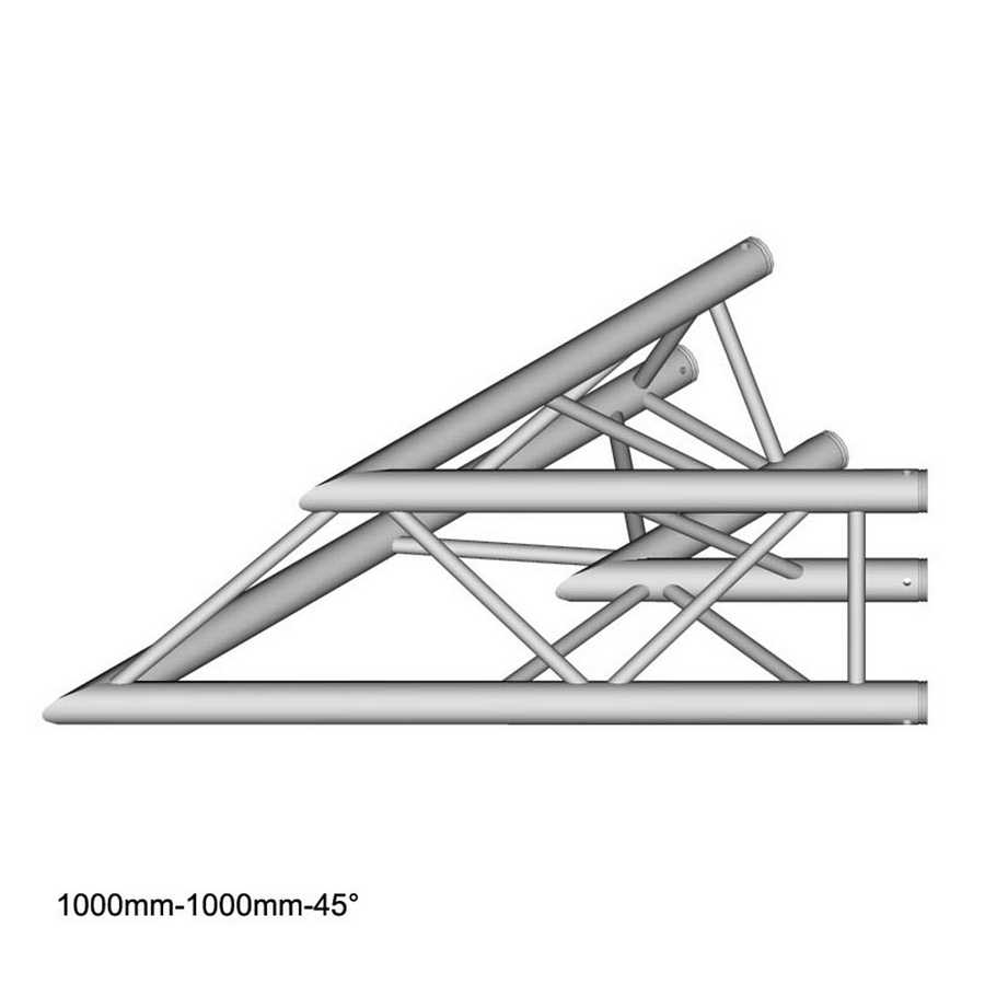 DuraTruss DT 33-C19-L45 45° Corner 100 cm