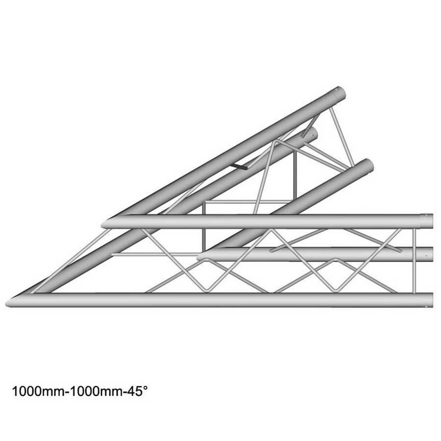 DuraTruss DT 23-C19-L45 45° corner 100cm