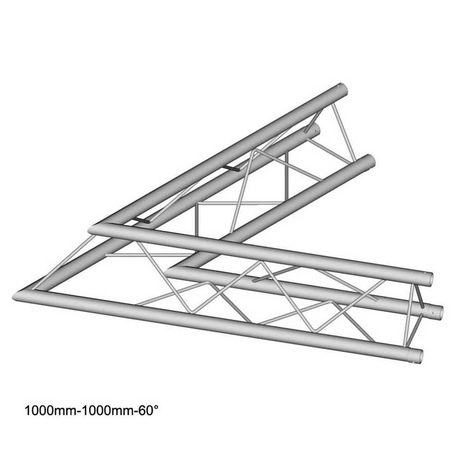 DuraTruss DT 23-C20-L60 60° corner 100cm