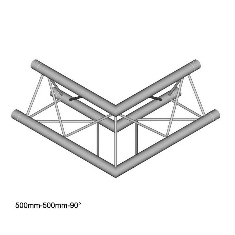 DuraTruss DT 23-C21-L90 90° corner 50cm