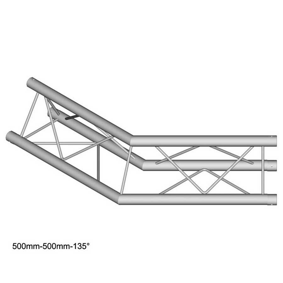 DuraTruss DT 23-C23-L135 135° corner 50cm