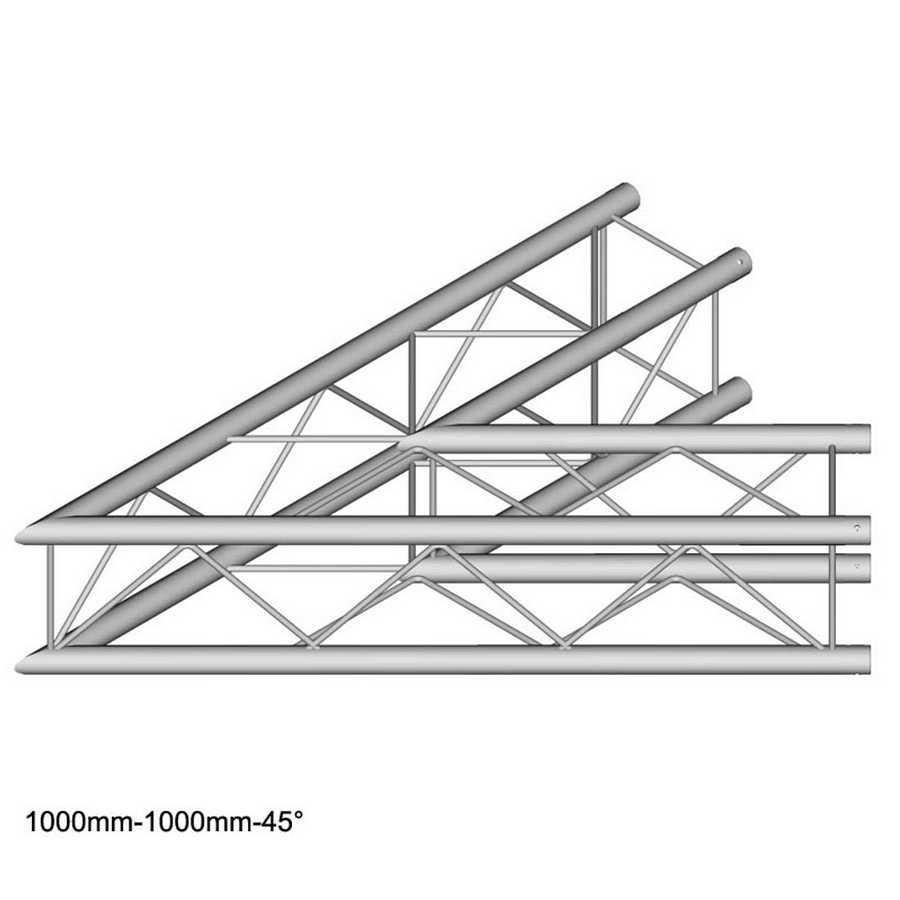 DuraTruss DT 24-C19-L45 45° corner 100cm