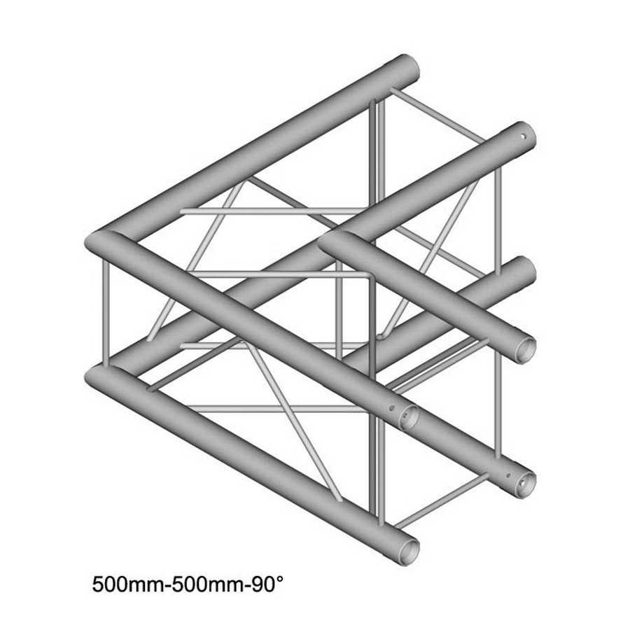 DuraTruss DT 24-C21-L90 90° corner 50cm