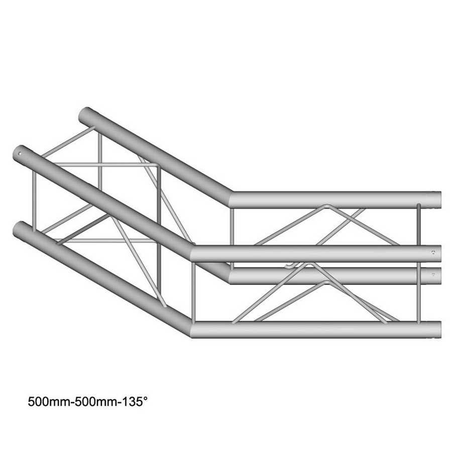 DuraTruss DT 24-C23-L135 135° corner 50cm