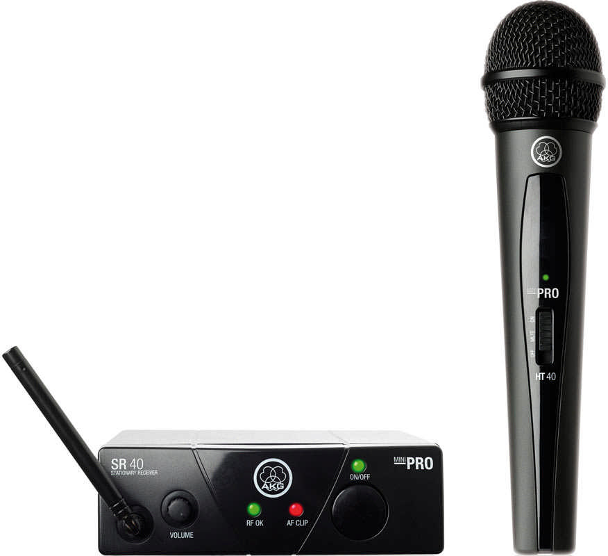 AKG WMS40 PRO MINI vokalsystem ISM1 (863.100 MHz)