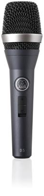 AKG D5S Dynamisk Vokal Mikrofon med afbryder
