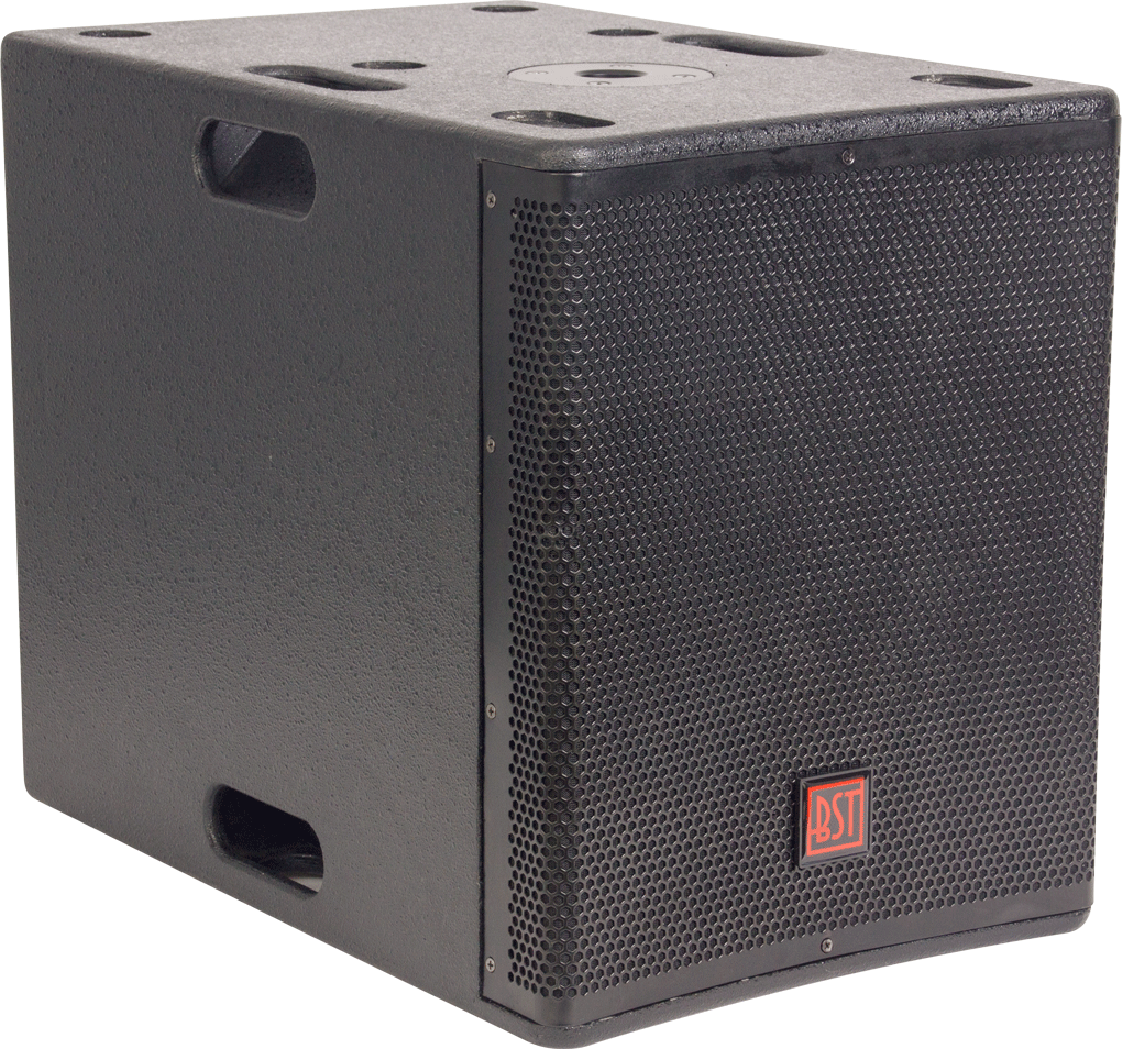 "Image of   BST SA12WDSP 12"" Aktiv subwoofer 800 watt"