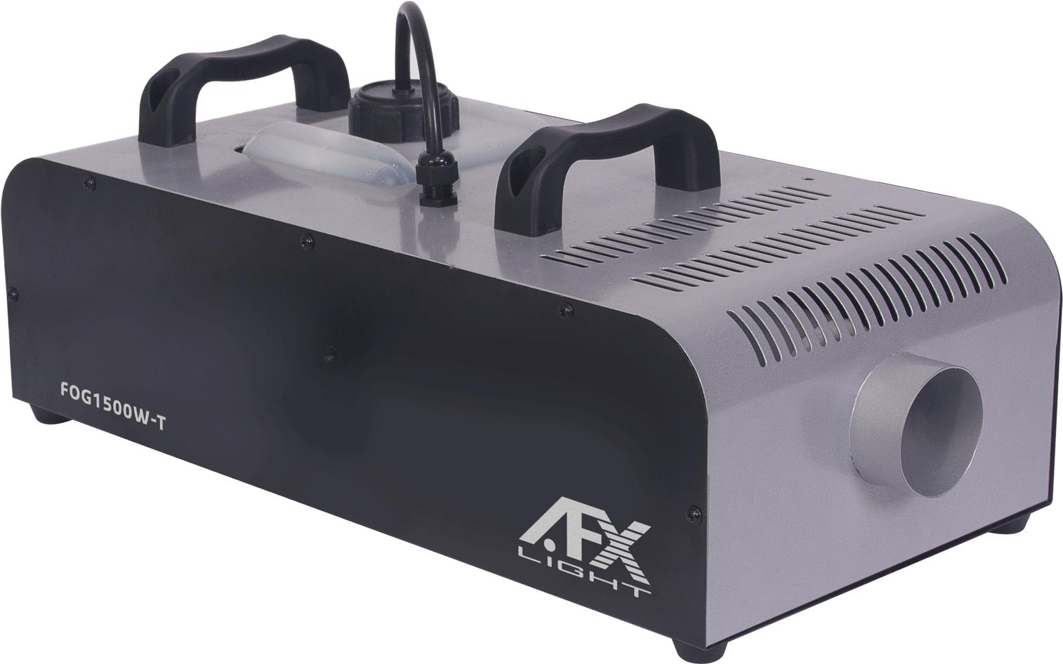 AFX 1500W røgmaskine med Timer, trådløs fjernbetjening og DMX