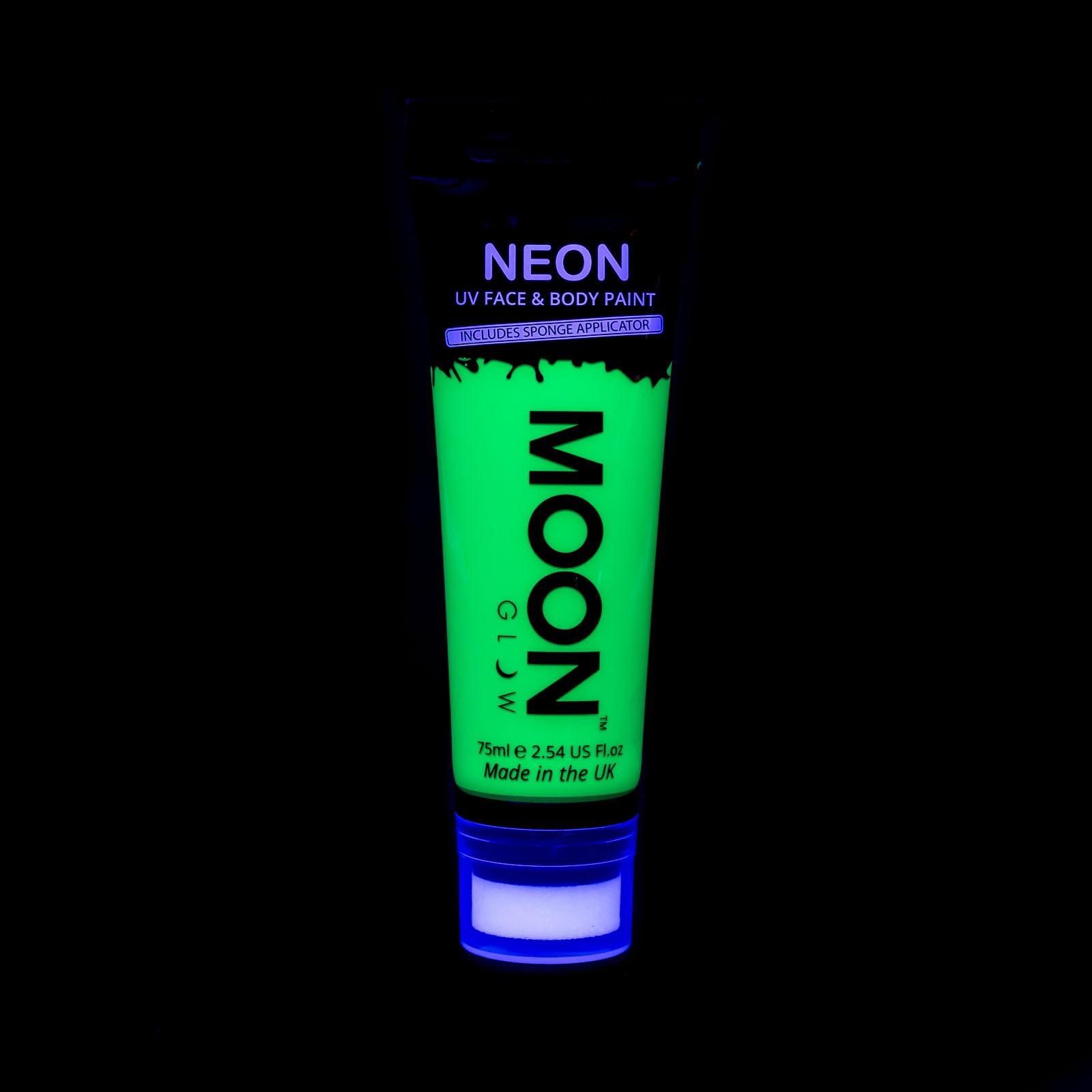 Image of   UV maling til kroppen og ansigtet 75 ml. Grøn