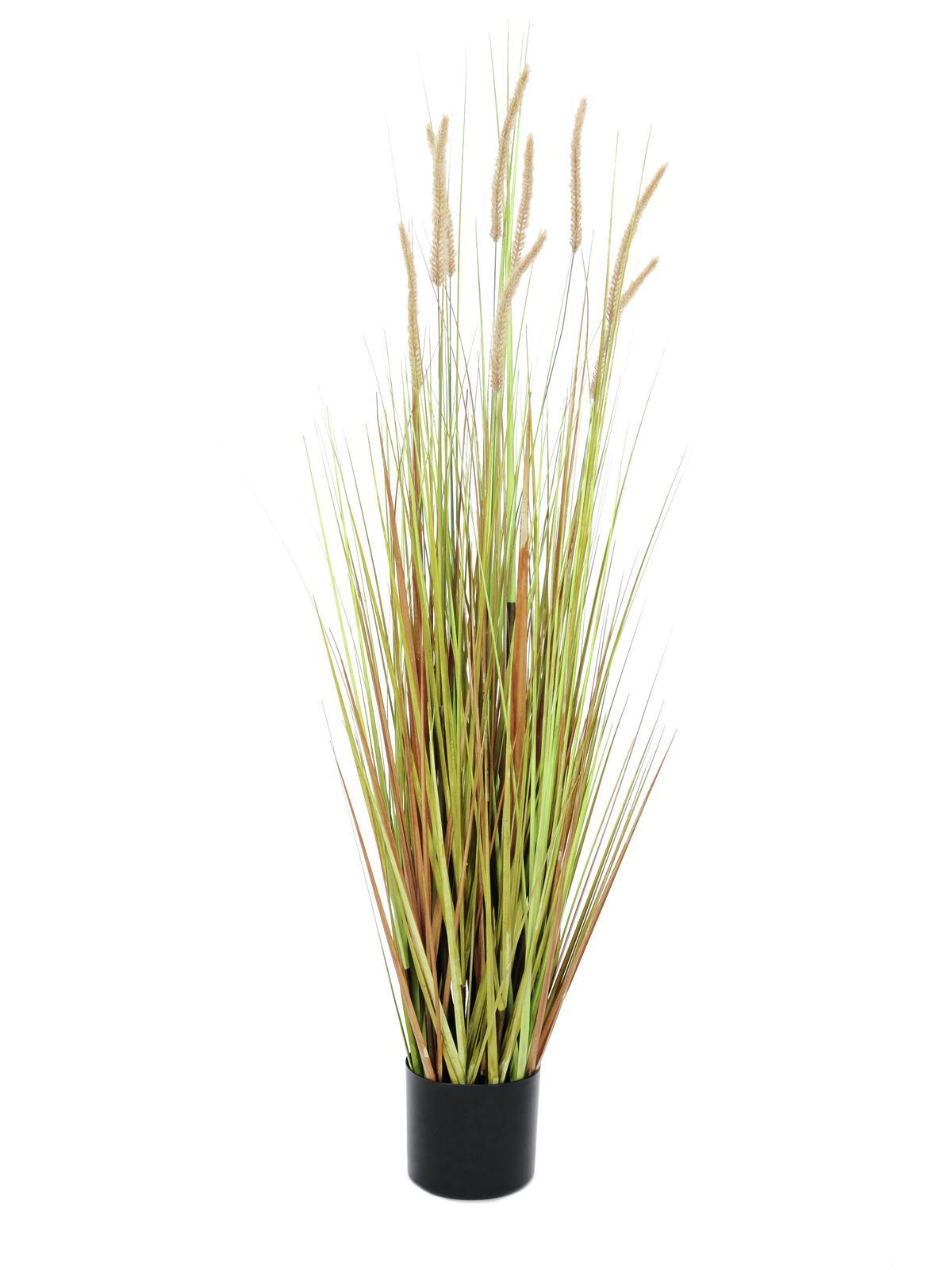 Billede af Kunstig Fountain grass bush, 120cm