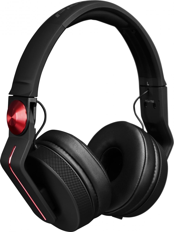 Billede af Pioneer HDJ-700-R DJ hovedtelefon - Rød