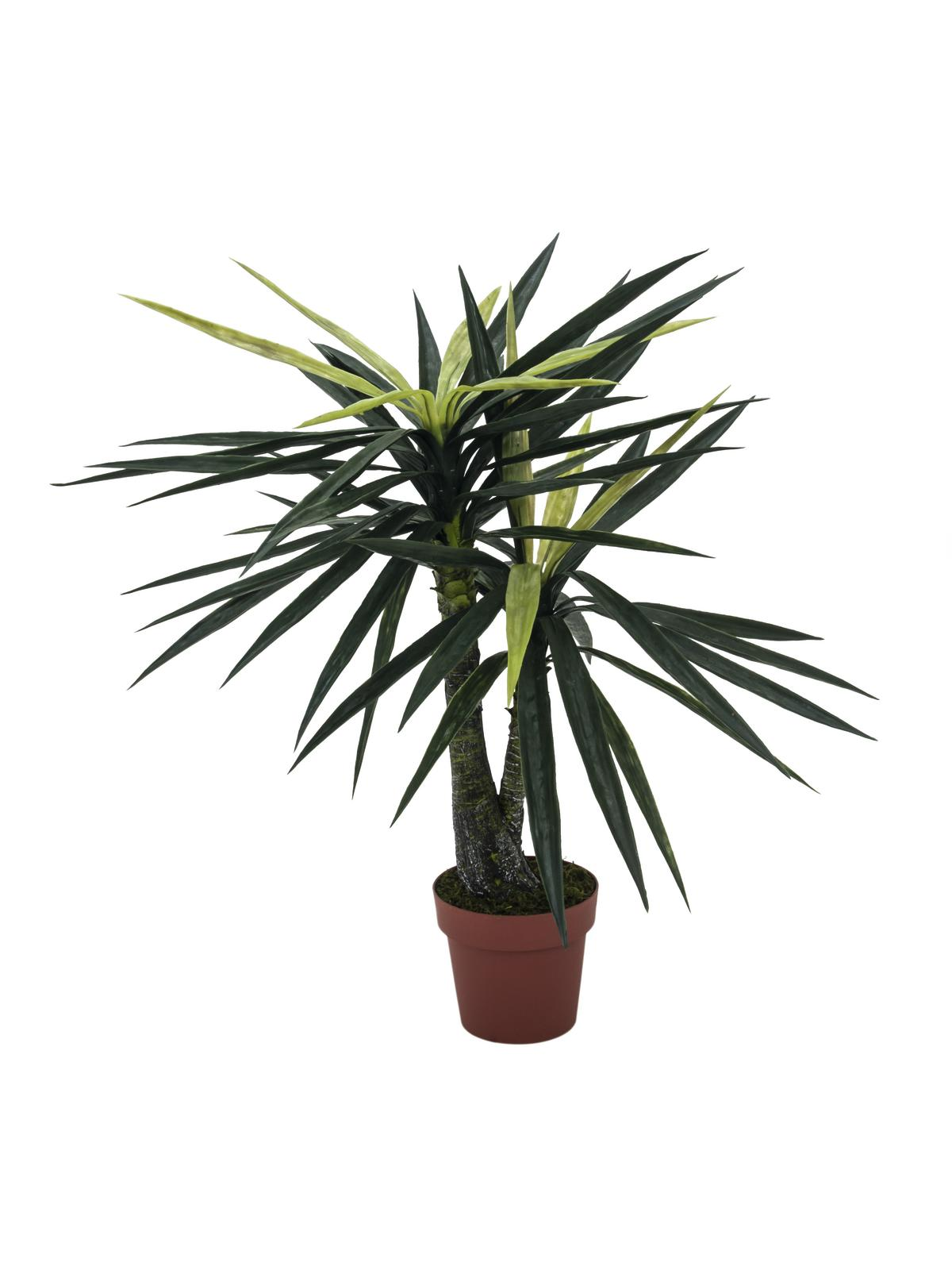 Image of   Kunstig Yucca, 2-trunks, 115cm