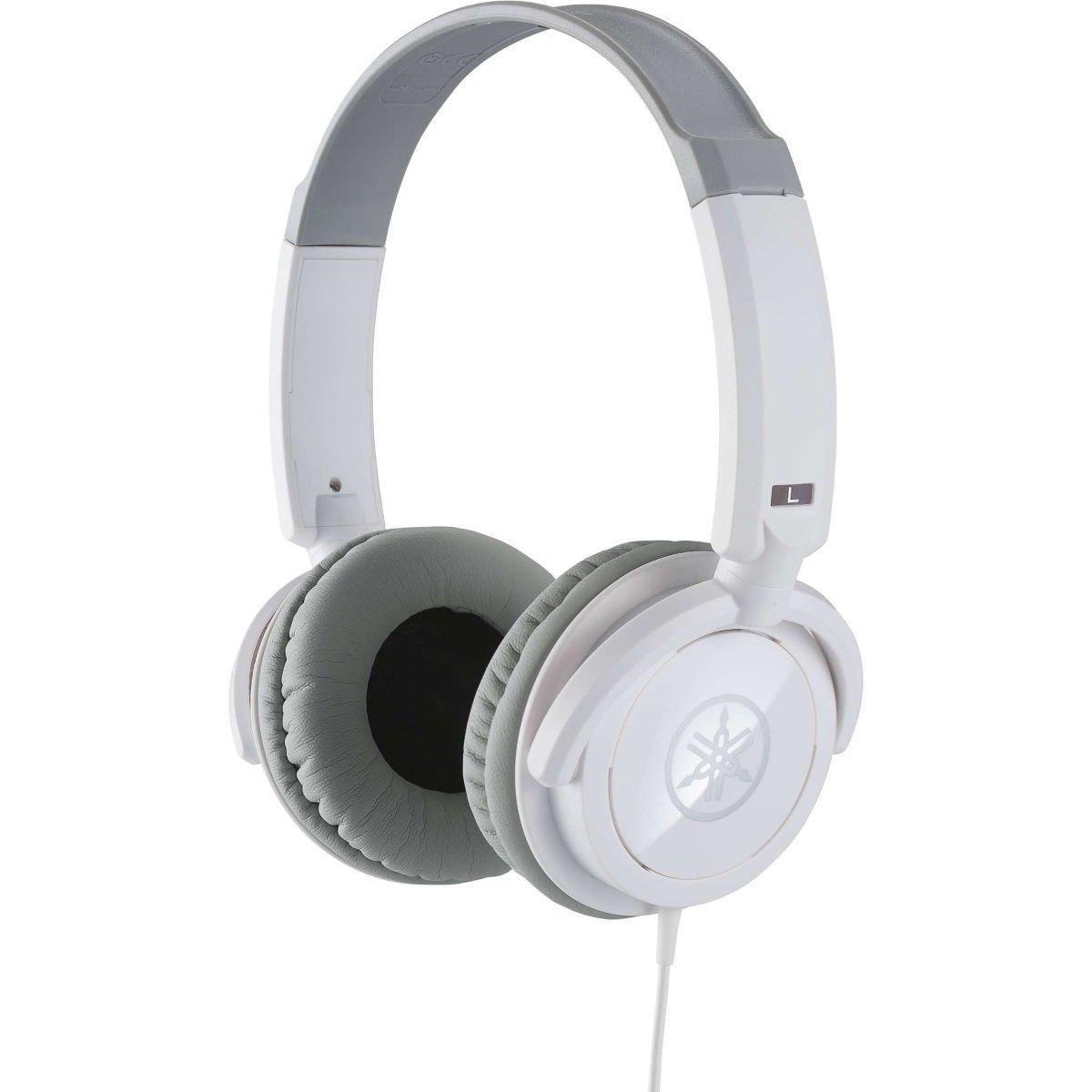 Image of   Yamaha HPH-100 Closed headphone, white