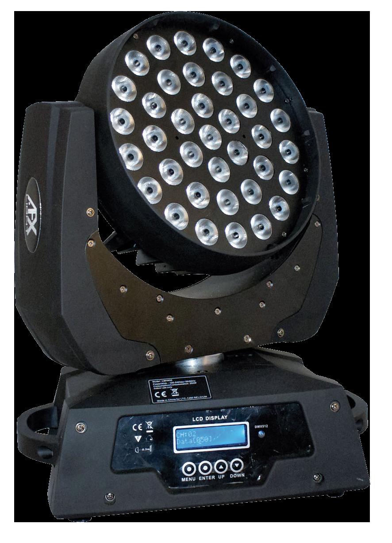 Image of   AFX LED 400 Zoom Wash RGBW