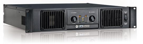 RCF HPS 2500 Forstærker (2 x 700 Watt 8 Ohm)