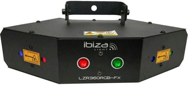 IBIZA LZR 360 RGB Laser
