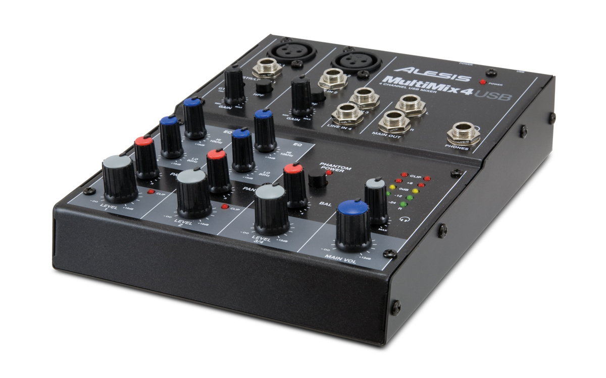 Image of   Alesis MultiMix 4 USB