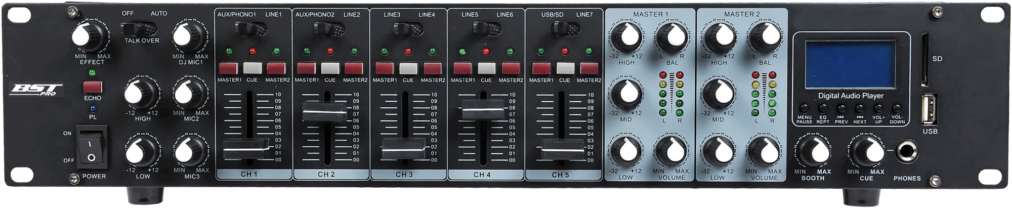 BST MX56U Rack mixer