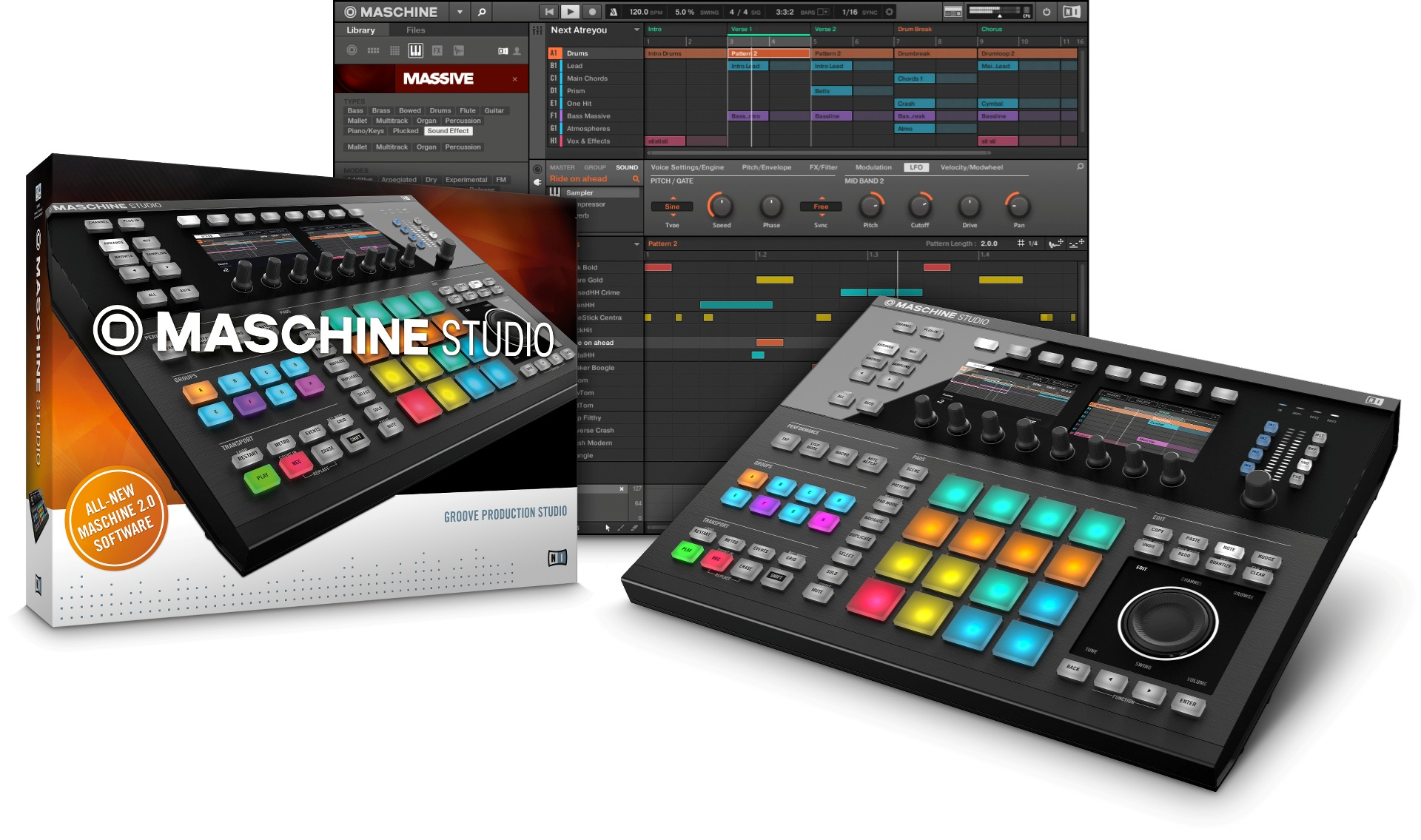 Native Instruments MASCHINE STUDIO Sort