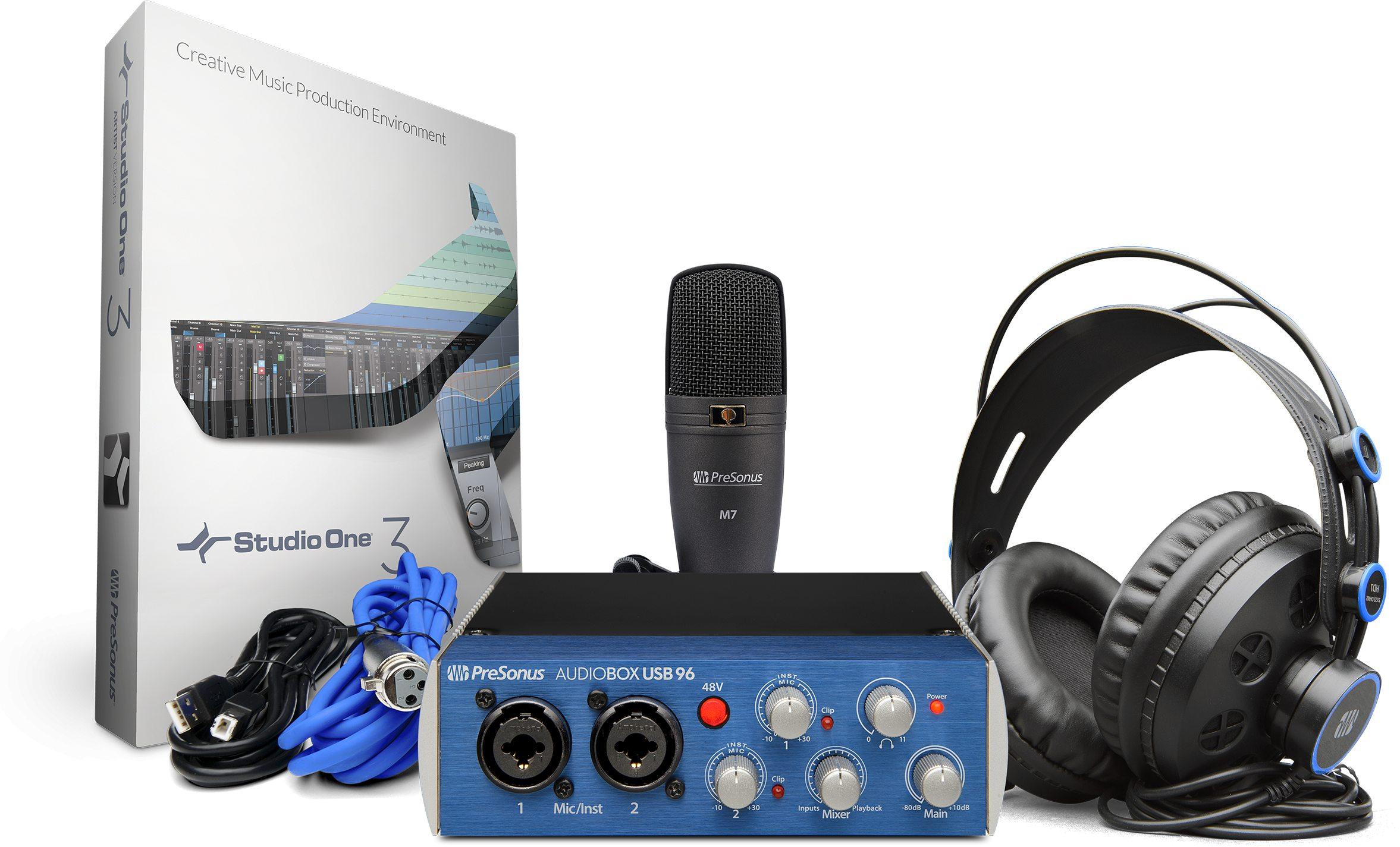 Image of   Presonus AudioBox USB 96 Studio