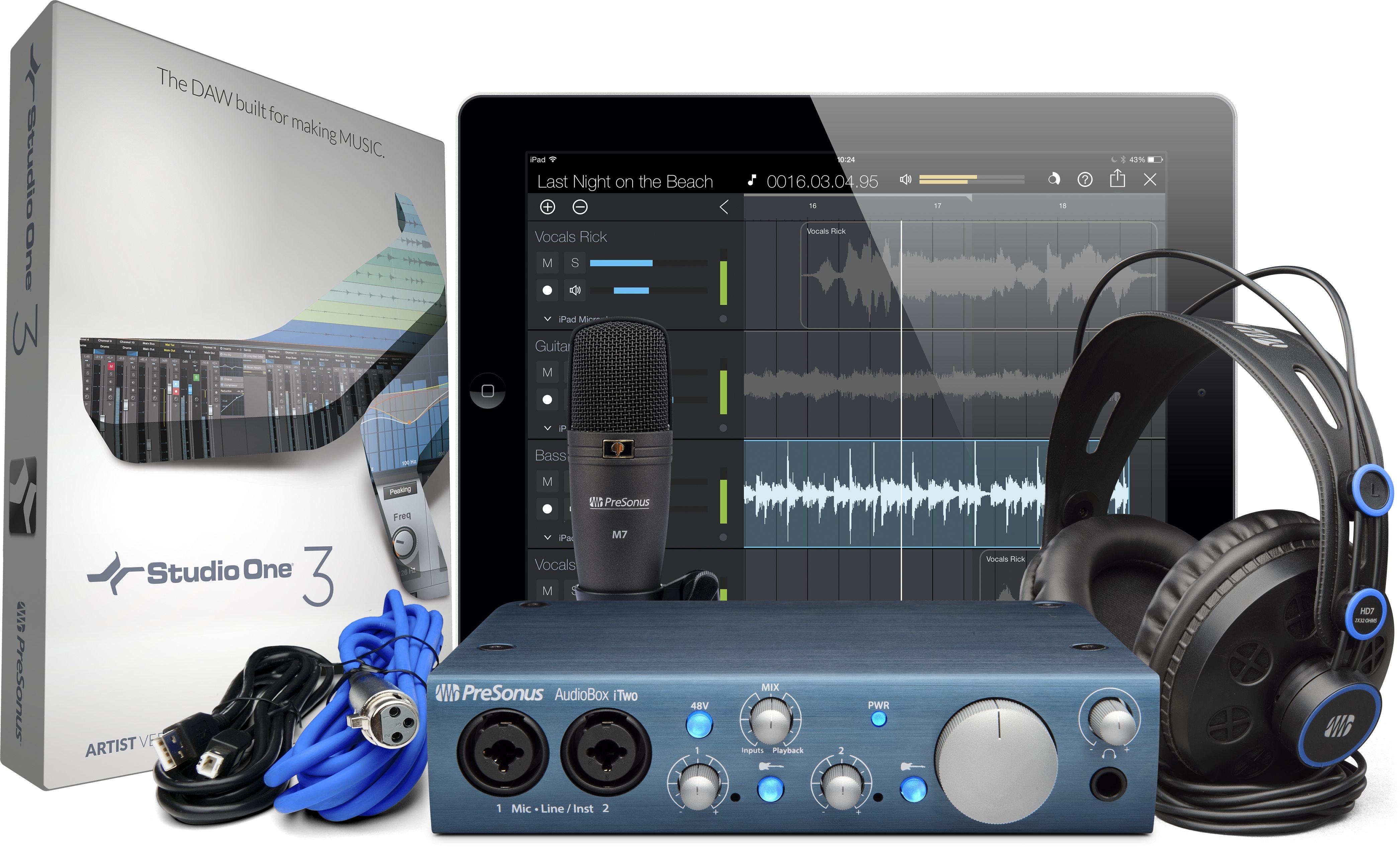 Image of   Presonus AudioBox iTwo Studio