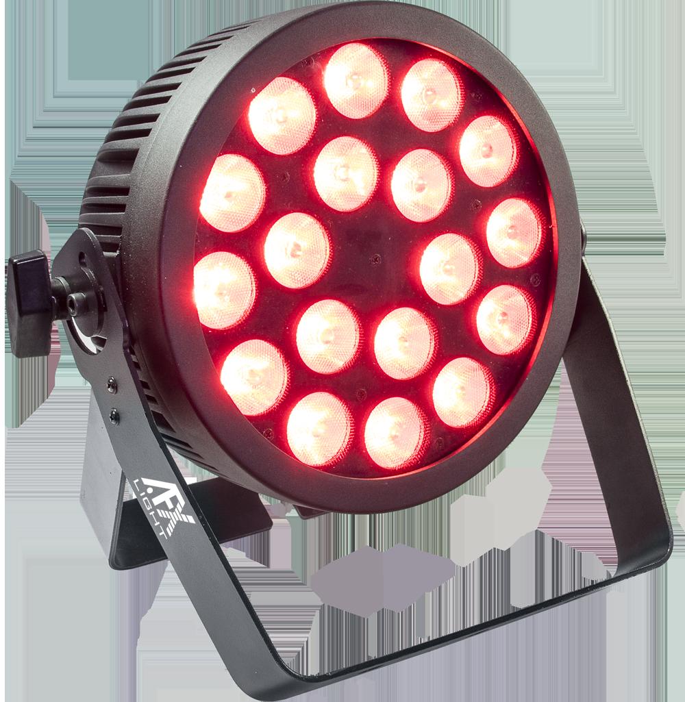 Image of   AFX 18x12w RGBWA UV LED