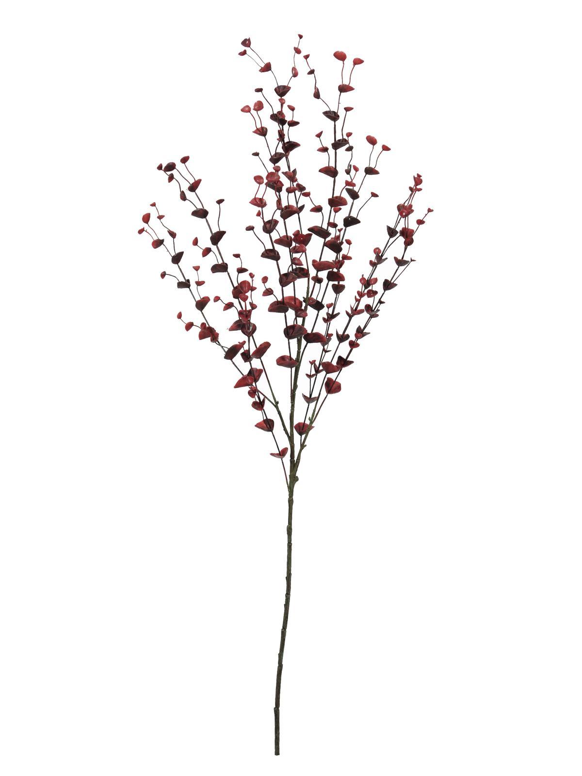 Image of   Kunstig Eucalyptus spray, red, 110cm