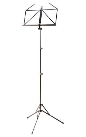 K&M nodestativ sort, 64-150 cm, underlag 435 x 215 mm