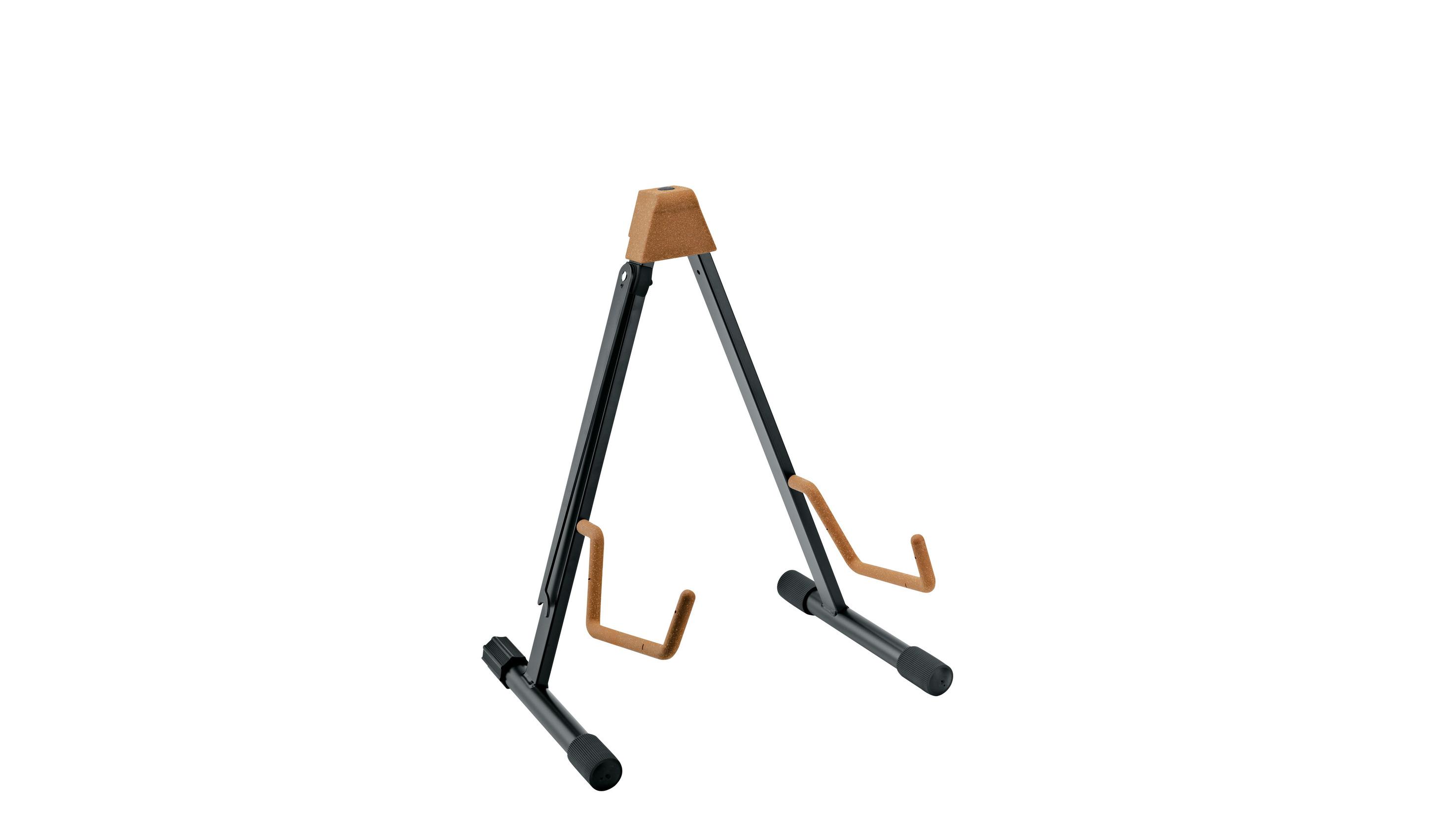 K&M cello stativ, sort med kork