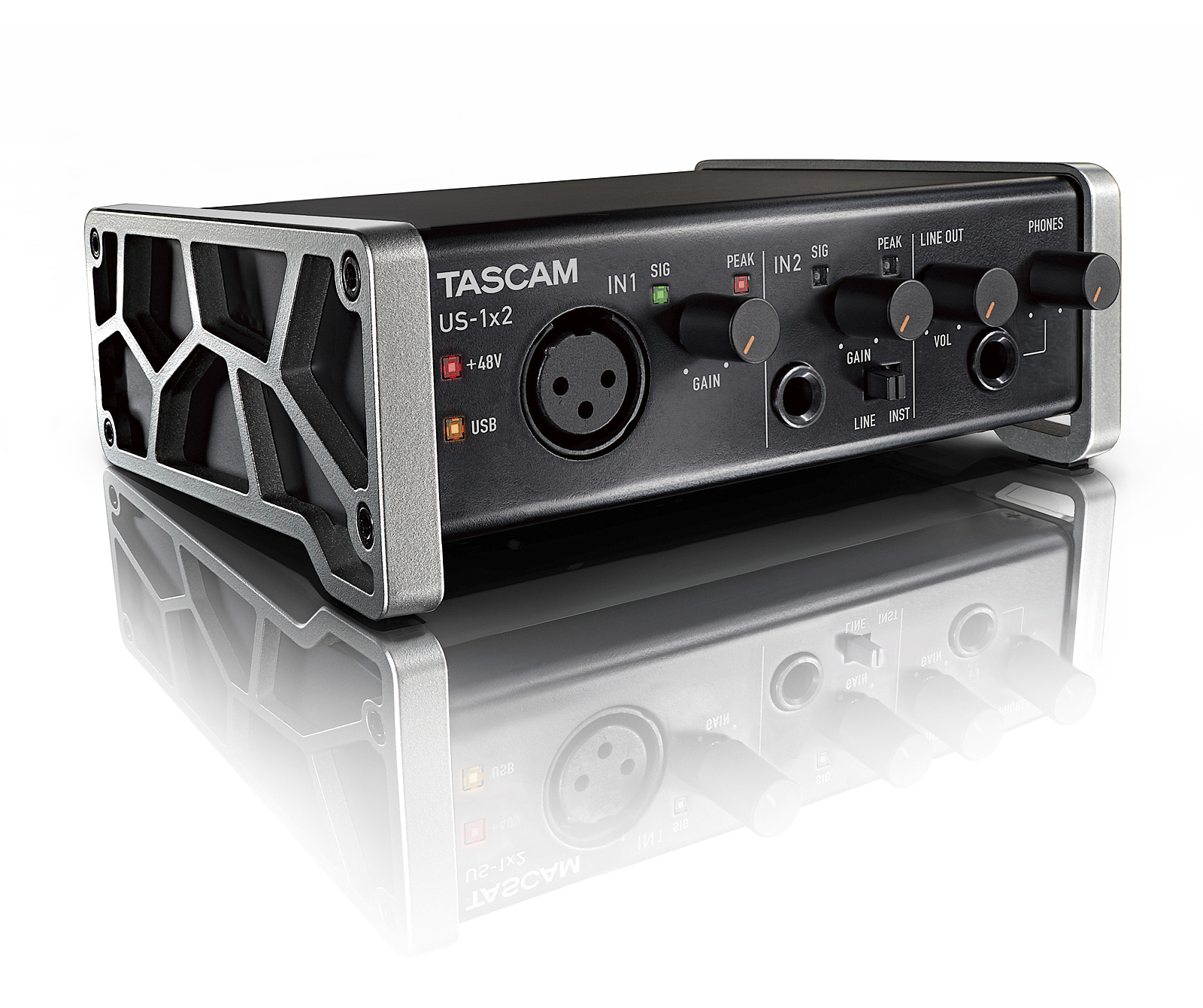 Image of   Tascam US-1x2 USB 2.0 Audio interface
