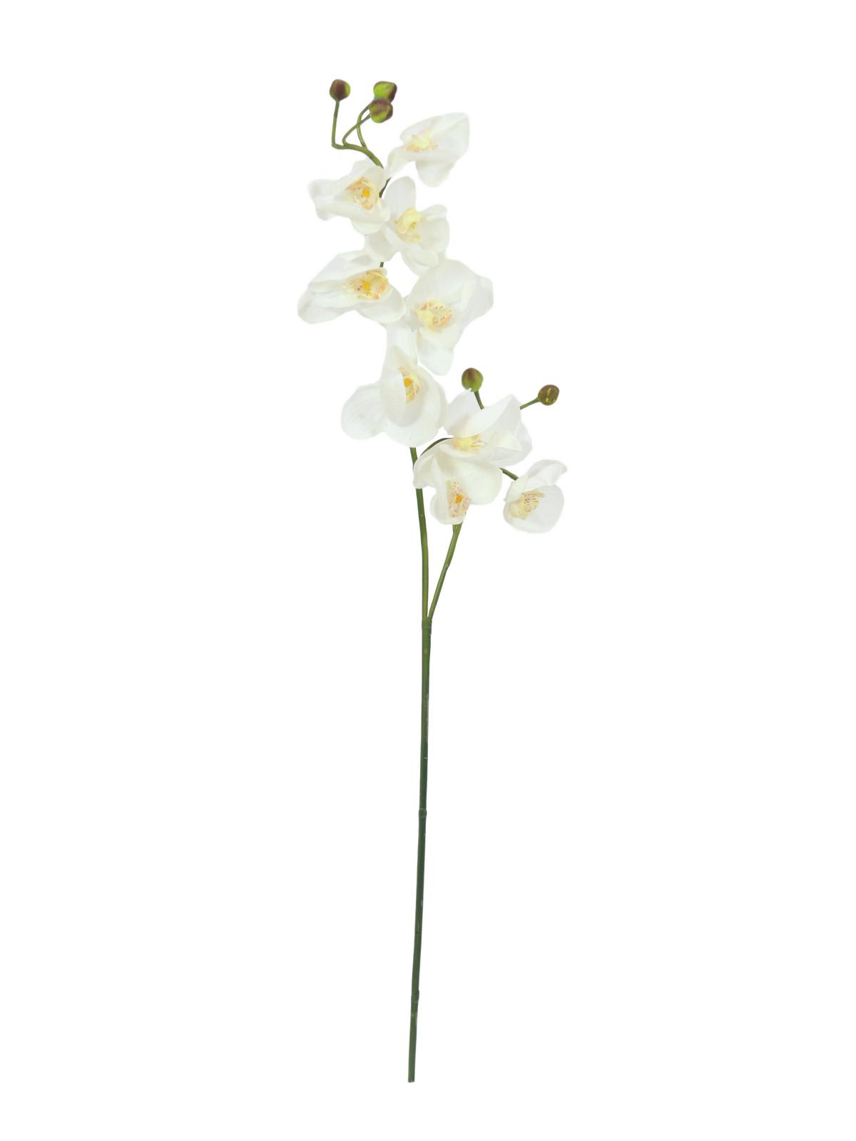 Kunstig  Orchidspray, cream-white, 100cm