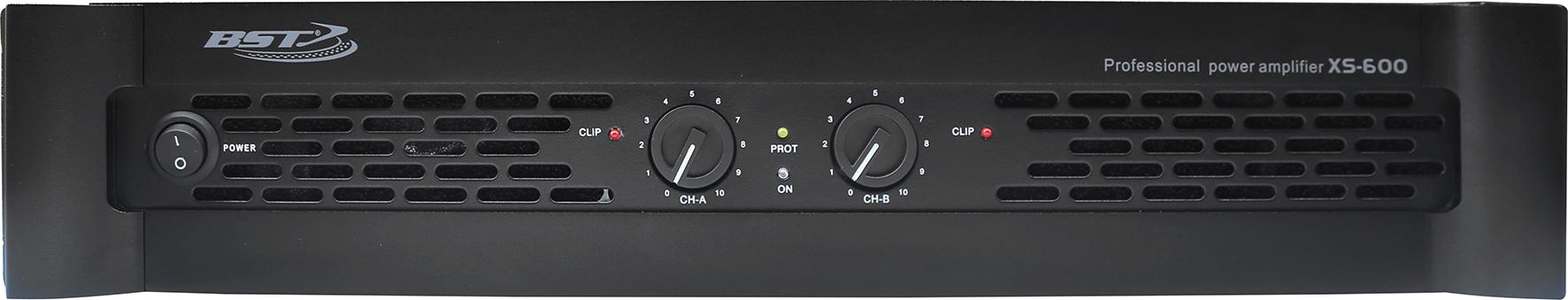 BST XS600 forstærker 2x 300 watt