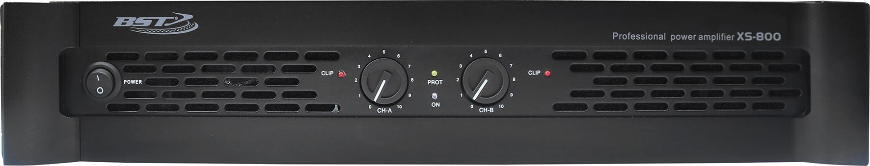 BST XS800 forstærker 2 x 500 watt